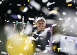 Woźnacki WTA Finals 2017