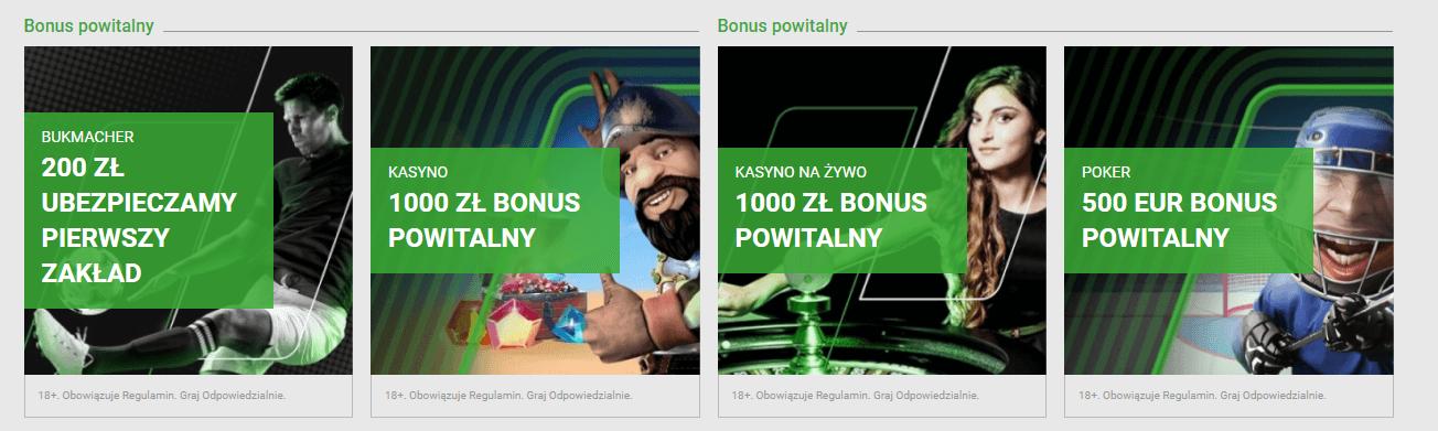 unibet bonusy